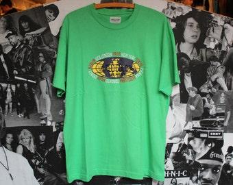 Vintage UNITED COLORS of BENETTON Shirt clothing fashion one world vtg italian