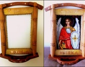 Iconostasis for icon-tapestry of Archangel Michael / ordered end reserved for TS./