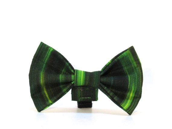 Green Dog Bow Tie, Dog Bow Tie