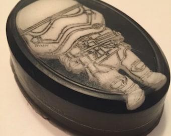 Stormtrooper Soap