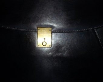 GUCCI Portfolio Brief case Purse Bag Attaché Case Vintage