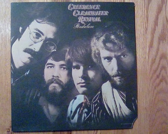 Vintage 1970 Creedence Clearwater Revival Pendulum Fogerty Chameleon Molina Pagan Baby Have You Ever Seen the Rain Gate Fold