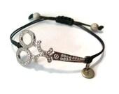 Personalized Scissors Bracelet, Shears Bracelet, Hairdresser, Hairstylist Bracelet, Groomer Bracelet, Beautician Bracelet, Stylist Bracelet