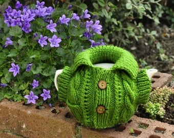 4-6 cup Tea Cosy Cozy knitted pattern