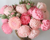 paper flowers paper wedding bouquet wedding bouquets bridal bouquet paper bouquet bridesmaids bouquets paper peonies pink flowers pink peony