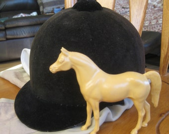 Vintage English Riding Hat & breeches, Photo prop, stage prop, Ready to ship!  good to very good