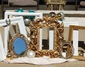 Shabby Chic Frame Set/Wedding Picture Frames/Home Decor/Photo Frames