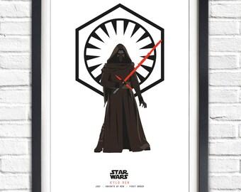 Star Wars - Solo Series - Kylo Ren - 19x13 Poster
