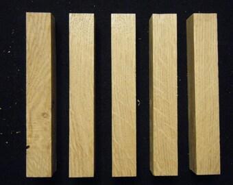 Quarter sawn oak pen/pencil blanks