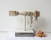 Bracelet Holder / Display - Made from Architectural Salvage Spindle - Shabby Chic Jewelry Storage Recycled - Qty available READY To