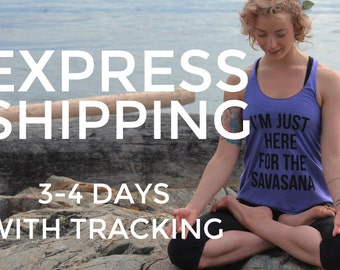 EXPRESS SHIPPING - 3-4 DAYS with tracking