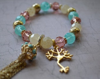 Biolojewelry - Neuron Science Biology Charm Bracelet