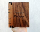 Custom recipe book / personalized cook book /  blank cook book / gift for chef family recipes