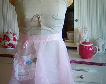 Vintage 1950 Hostess Apron