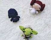 Amigurumi Discount Pattern Package - Amigurumi Star Wars -Crochet Star Wars Pattern