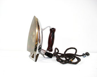 Vintage Clothing Iron Coleman Lamp and Stove Co Coleman Model 36 Electric Iron