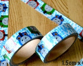 1 Roll Limited Edition Washi Tape- Thomas and Friends