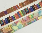 Clearance SALE: 3 Rolls of Limited Edition Washi Tape- Book Lovers' Heaven