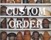 Nonrefundable Deposit for Custom Order Reserved for MH