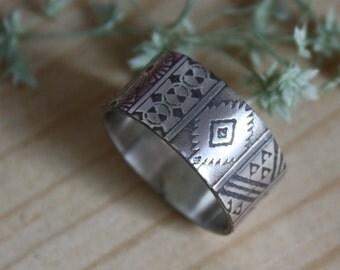 La boheme, sterling silver bohem spirit ring