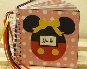 Disney Autograph Book Minnie Mouse