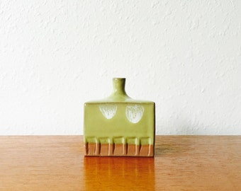 Vintage 1970s Takahashi Weed Pot // 70s Pottery