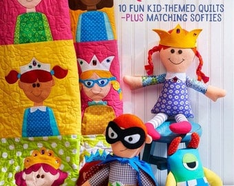 Fons & Porter-Happy Quilts Fun Kid Themed Quilts Coordinating Soft Toys KR T7179