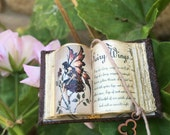 Sexy Fairy Open Book - Dollhouse Miniatures
