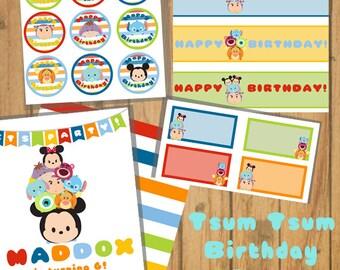 Tsum Tsum Birthday Pack