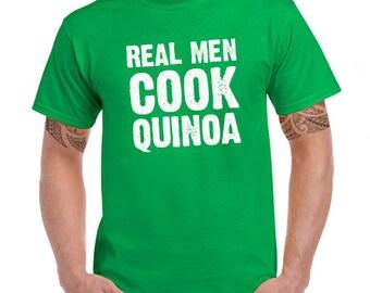 Real Men Cook Tee
