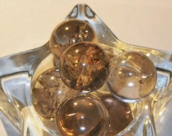 Smoky Quartz Crystal Spheres Smoky Quartz Balls Smoky Quartz Globes