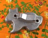 1940's Metal Rabbit Cookie Cutter
