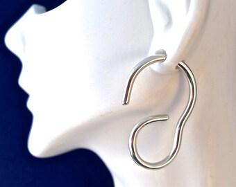 "10 Gauge ""g"" Sterling Silver Earrings"