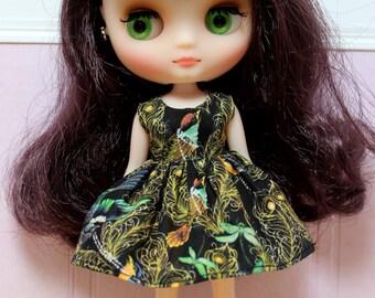 BLYTHE Middie doll Its my party dress - LIBERTY joy and sorrow