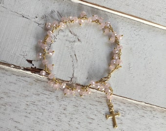 Baby girl baptism gift girl baptism bracelet baby keepsake christening gift christian jewelry girls jewelry girl gift baby bracelet toddler