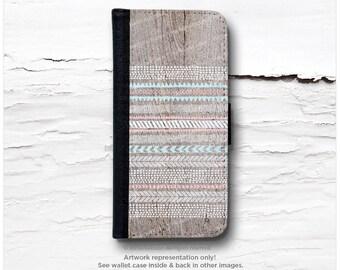 iPhone 6S Case Wallet, iPhone 6 Wallet Case Wood Print, iPhone 6s Case Native, Tribal iPhone 6 Wallet Case, iPhone 6S Flip Wallet Case I31d