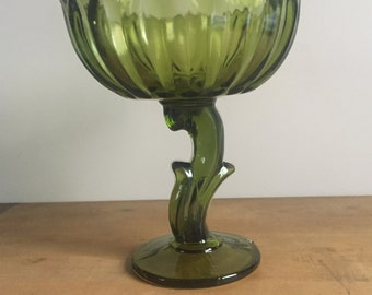 Vintage glass compote/candy dish