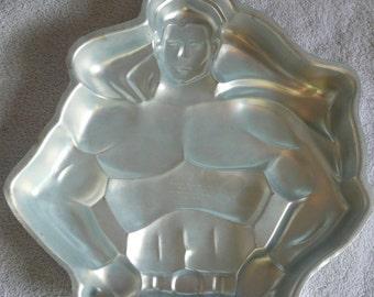 Vintage Superhero Wilton's Cake Pan