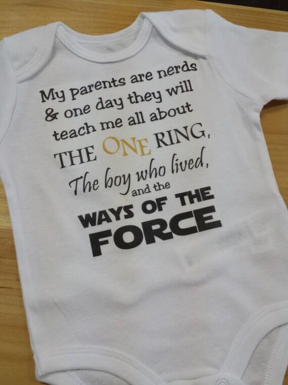 Nerdy Baby Gifts Uk : Nerdy baby bodysuit