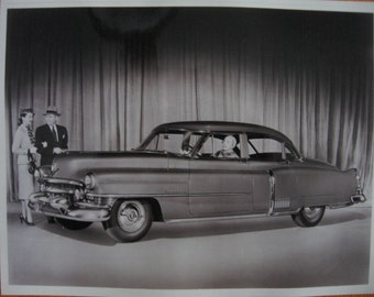 SALE 1950 Cadillac Four-door Sedan 60-S Factory Showroom Photograph