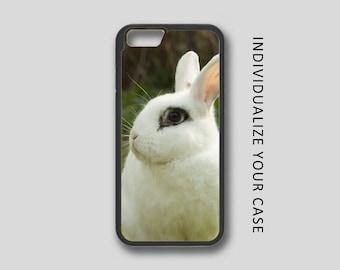 Bunny iPhone Case, Rabbit iPhone Case, Bunny iPhone 6 Case, iPhone 6s Case, iPhone 5s Case, Phone Case, Edge Case, SE Case New