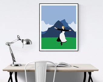 The Sound of Music Minimalist Poster