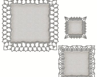 Spellbinders - Nestabilities - Art Deco - Deco Element - Fairmont Decorative Element