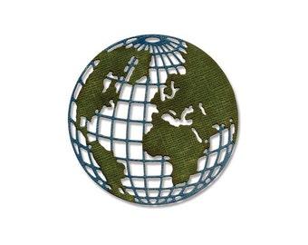 Sizzix - Tim Holtz Alterations - Thinlits Die - Globe - Mini