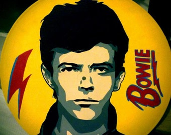 David Bowie Vinyl Record Pop Art