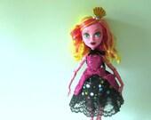 """Carnival Party Dress for 17"""" in Tall Slimline Monster Dolls"""