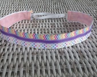 Chevron Womens Headband - Girls Polka Dot Fashion Headband