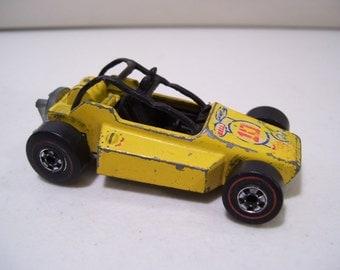Vintage Hot Wheels Redline Rock Buster Dune Buggy Die-cast Car 1975, Hong Kong