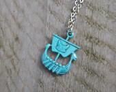 Viking ship necklace viking jewelry , gift for him , unisex necklace