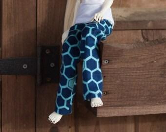 MSD Hexagon Fuzzy Pajama Pants